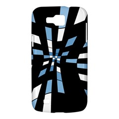 Blue abstraction Samsung Galaxy Premier I9260 Hardshell Case