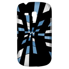 Blue abstraction Samsung Galaxy S3 MINI I8190 Hardshell Case