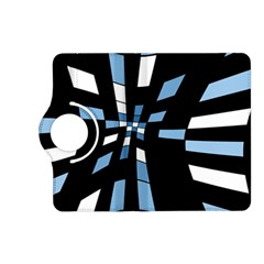 Blue abstraction Kindle Fire HD (2013) Flip 360 Case