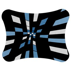 Blue abstraction Jigsaw Puzzle Photo Stand (Bow)