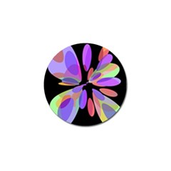 Colorful abstract flower Golf Ball Marker (4 pack)