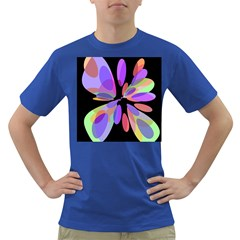 Colorful abstract flower Dark T-Shirt