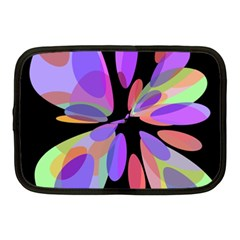 Colorful abstract flower Netbook Case (Medium)