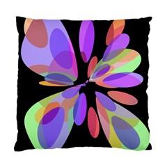 Colorful abstract flower Standard Cushion Case (Two Sides)