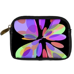 Colorful abstract flower Digital Camera Cases