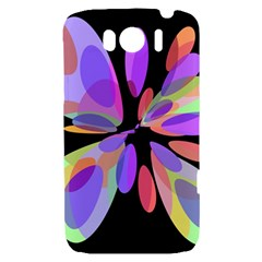 Colorful abstract flower HTC Sensation XL Hardshell Case