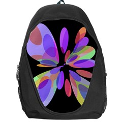 Colorful abstract flower Backpack Bag