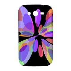 Colorful abstract flower Samsung Galaxy Grand DUOS I9082 Hardshell Case