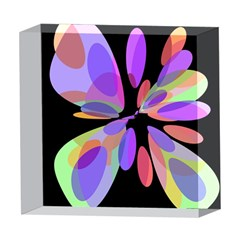 Colorful abstract flower 5  x 5  Acrylic Photo Blocks