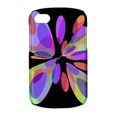 Colorful abstract flower BlackBerry Q10
