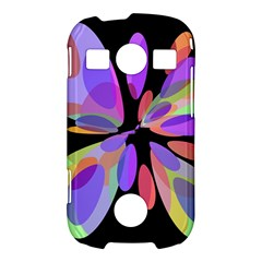 Colorful abstract flower Samsung Galaxy S7710 Xcover 2 Hardshell Case