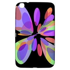 Colorful abstract flower Samsung Galaxy Tab 3 (8 ) T3100 Hardshell Case