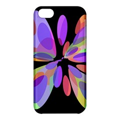Colorful abstract flower Apple iPhone 5C Hardshell Case