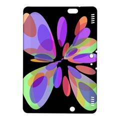 Colorful abstract flower Kindle Fire HDX 8.9  Hardshell Case