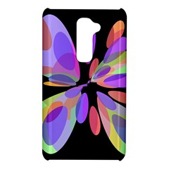 Colorful abstract flower LG G2