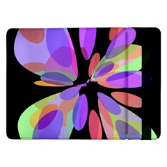 Colorful abstract flower Samsung Galaxy Tab Pro 12.2  Flip Case