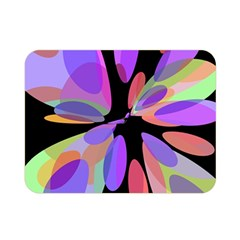 Colorful abstract flower Double Sided Flano Blanket (Mini)