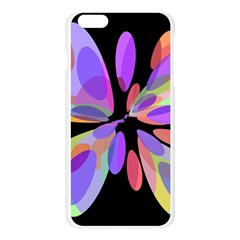 Colorful abstract flower Apple Seamless iPhone 6 Plus/6S Plus Case (Transparent)