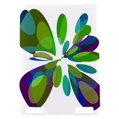 Green abstract flower Kindle Touch 3G