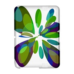 Green abstract flower Amazon Kindle Fire (2012) Hardshell Case