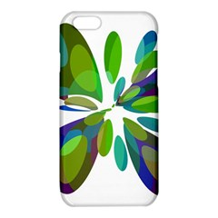 Green abstract flower iPhone 6/6S TPU Case