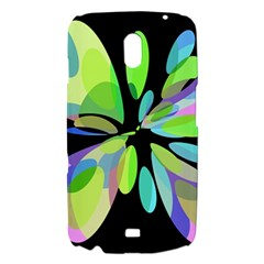 Green abstract flower Samsung Galaxy Nexus i9250 Hardshell Case