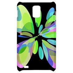 Green abstract flower Samsung Infuse 4G Hardshell Case