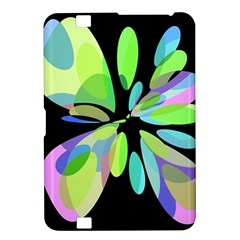 Green abstract flower Kindle Fire HD 8.9