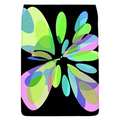 Green abstract flower Flap Covers (S)