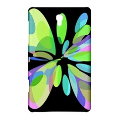 Green abstract flower Samsung Galaxy Tab S (8.4 ) Hardshell Case