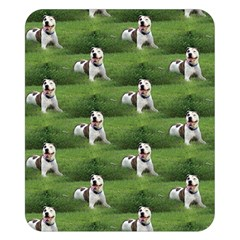 Pit Bull T-Bone Double Sided Flano Blanket (Small)