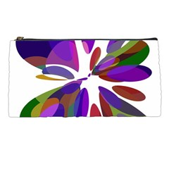 Colorful abstract flower Pencil Cases