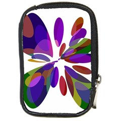 Colorful abstract flower Compact Camera Cases
