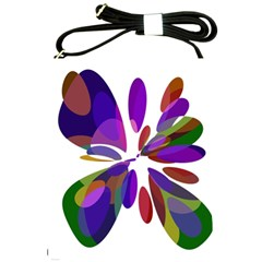 Colorful abstract flower Shoulder Sling Bags