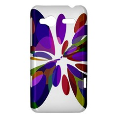 Colorful abstract flower HTC Radar Hardshell Case