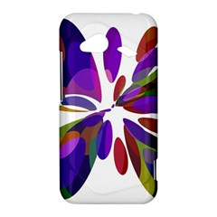 Colorful abstract flower HTC Droid Incredible 4G LTE Hardshell Case