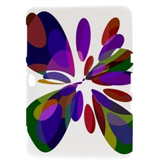 Colorful abstract flower Samsung Galaxy Tab 8.9  P7300 Hardshell Case