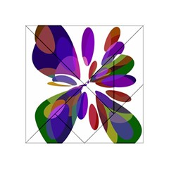 Colorful abstract flower Acrylic Tangram Puzzle (4  x 4 )