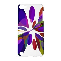 Colorful abstract flower Apple iPod Touch 5 Hardshell Case