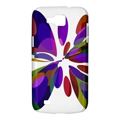 Colorful abstract flower Samsung Galaxy Premier I9260 Hardshell Case
