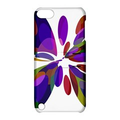 Colorful abstract flower Apple iPod Touch 5 Hardshell Case with Stand