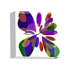 Colorful abstract flower 4 x 4  Acrylic Photo Blocks