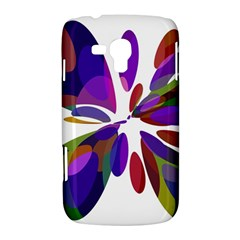 Colorful abstract flower Samsung Galaxy Duos I8262 Hardshell Case