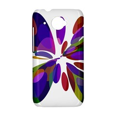 Colorful abstract flower HTC Desire 601 Hardshell Case