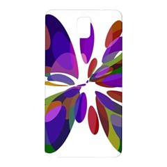 Colorful abstract flower Samsung Galaxy Note 3 N9005 Hardshell Back Case
