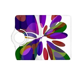 Colorful abstract flower Kindle Fire HD (2013) Flip 360 Case