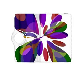 Colorful abstract flower Kindle Fire HDX 8.9  Flip 360 Case