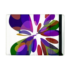 Colorful abstract flower iPad Mini 2 Flip Cases