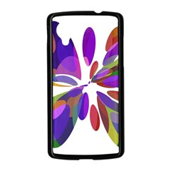Colorful abstract flower Nexus 5 Case (Black)