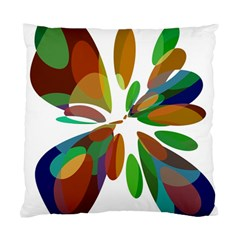 Colorful abstract flower Standard Cushion Case (One Side)